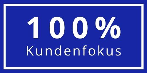 100 Prozent Kundenfokus Logo