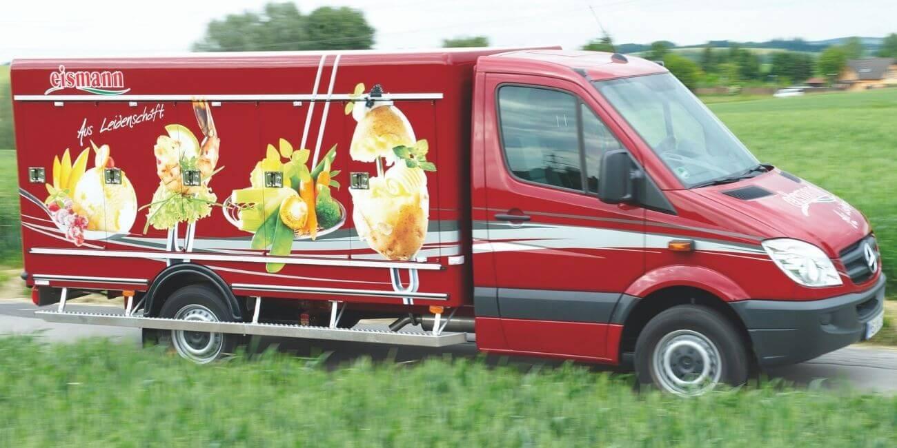 Neue Kunden gewinnen Eismann Wagen