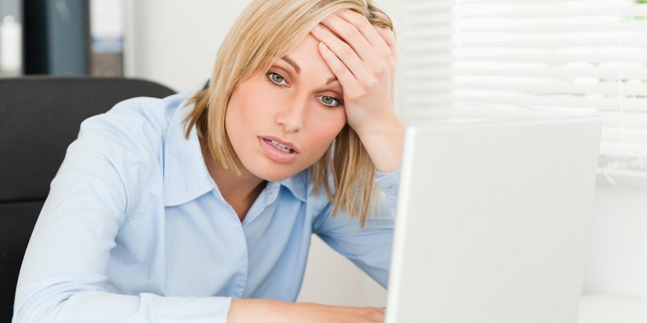 Schlechter Kundenservice Verzweiflung