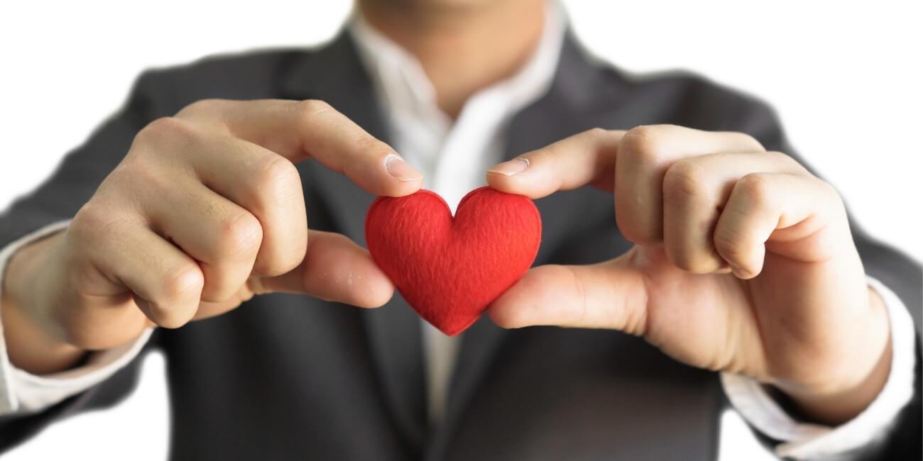 Kundennähe schaffen Herz